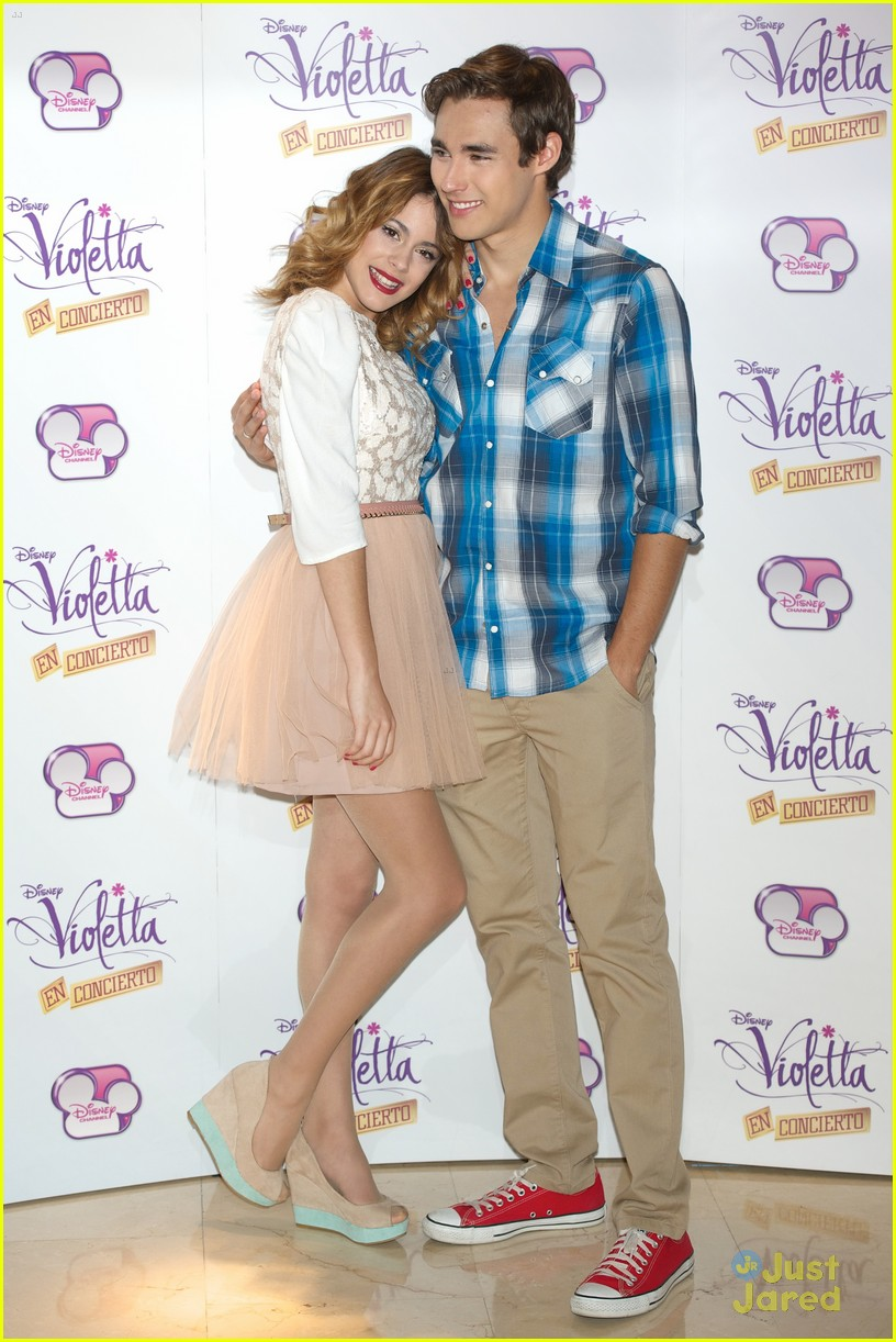 About This Photo Set: Martina Stoessel hits up the Violetta Concert