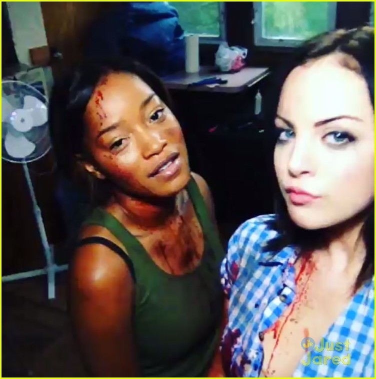About This Photo Set: Elizabeth Gillies and Keke Palmer get silly
