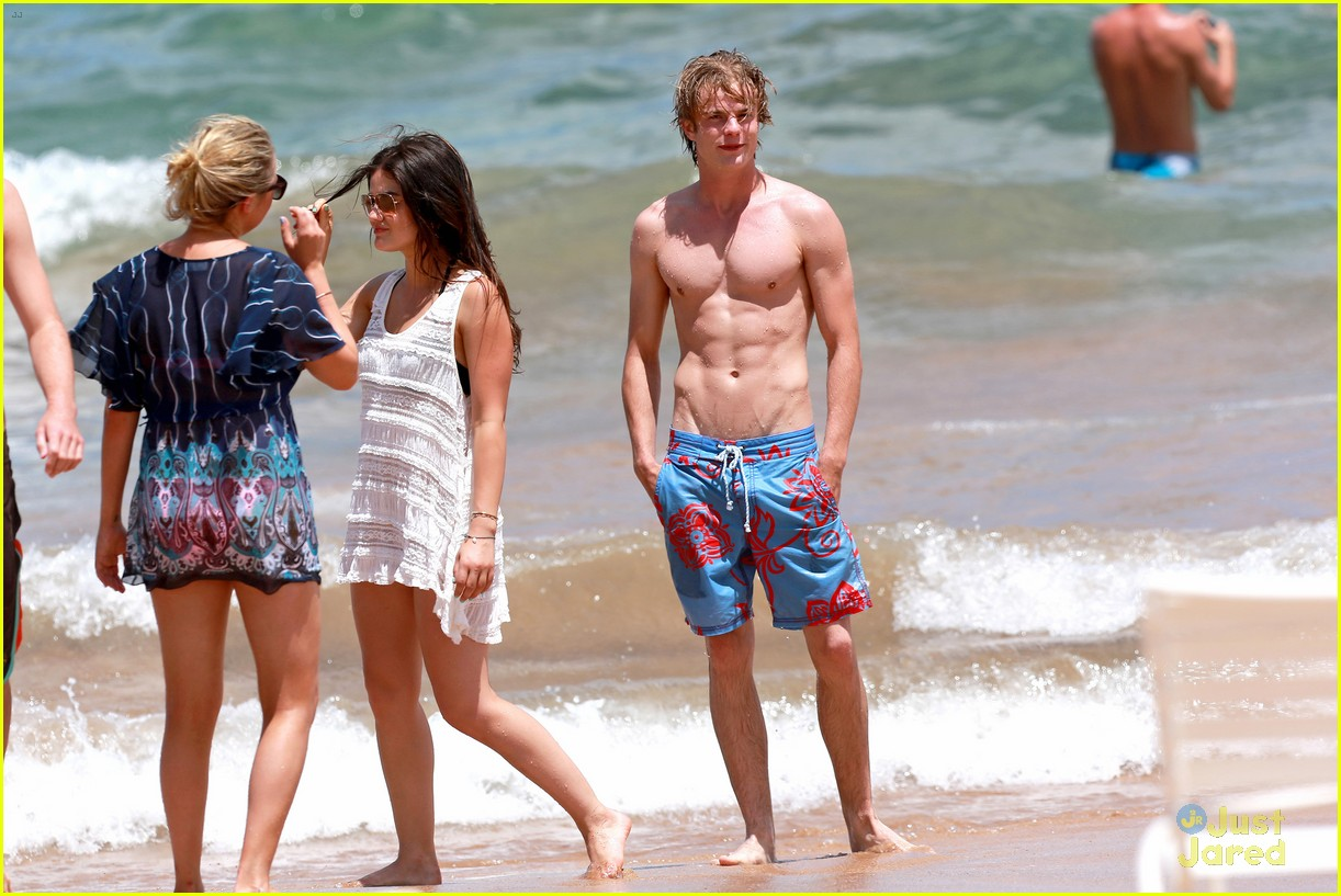 Graham Rogers lucy hale and graham rogers
