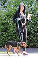 Miley-walk miley cyrus walk dog 04