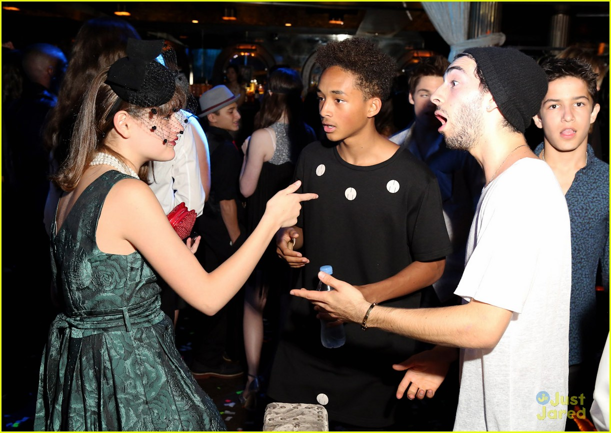 Joey King & Jaden Smith: Olivia Holt's Sweet 16! | Photo ...