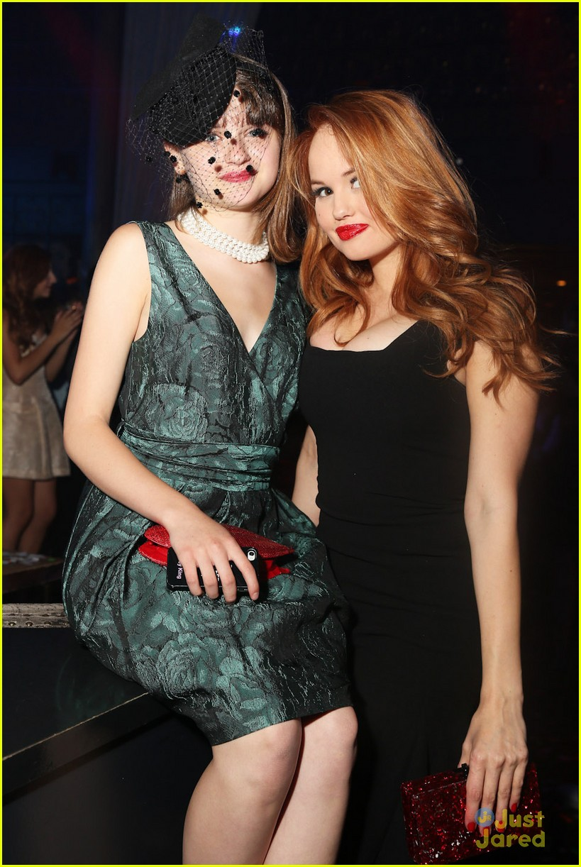 Nick And Disney TV: Debby Ryan & Joey King At Olivia's ...