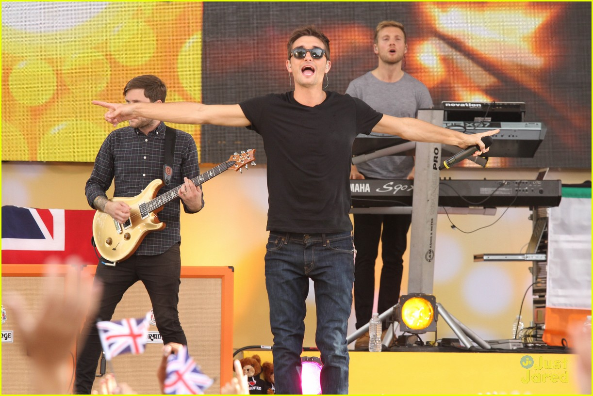 the wanted gma performance 30