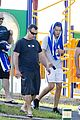 Harry-sweat harry styles sweats it out with his trainer 08