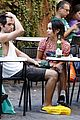 Penn-rome penn badgley zoe kravitz kisses in rome 16