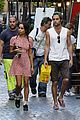 Penn-rome penn badgley zoe kravitz kisses in rome 30