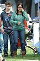 Ariel-nolan ariel winter nolan gould mf fair filming 02