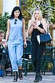 Jenner-single kendall jenner kylie jenner separate outings friends 06