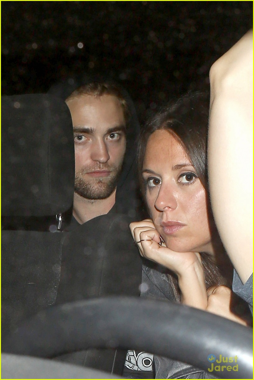robert pattinson show with florence welch 04