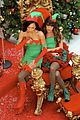 Glee-elves lea chris naya glee christmas scenes 20