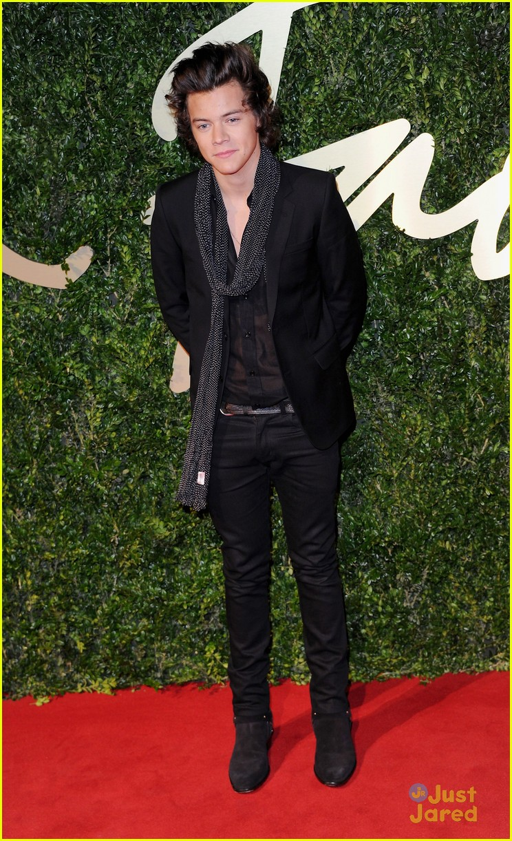 Daydream Stars Harry Styles British Fashion Awards 2013