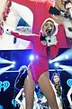 Miley-atl miley cyrus santa body suit at atlanta jingle ball 23