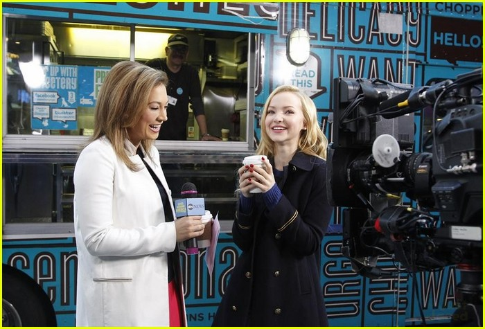 Good Morning America Segments Today : Dove cameron celebrates th birthday on gma photo