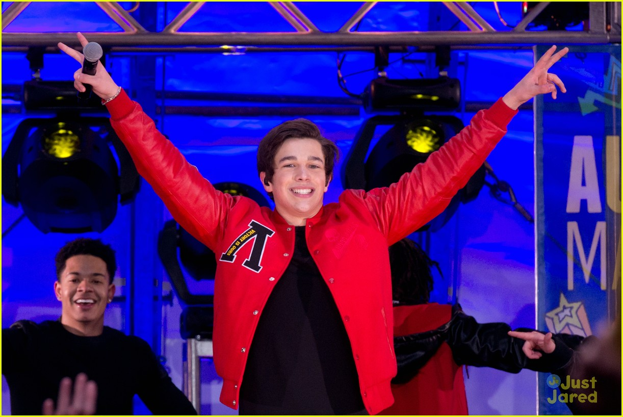 Good Morning America Performances : Austin mahone good morning america performance pics