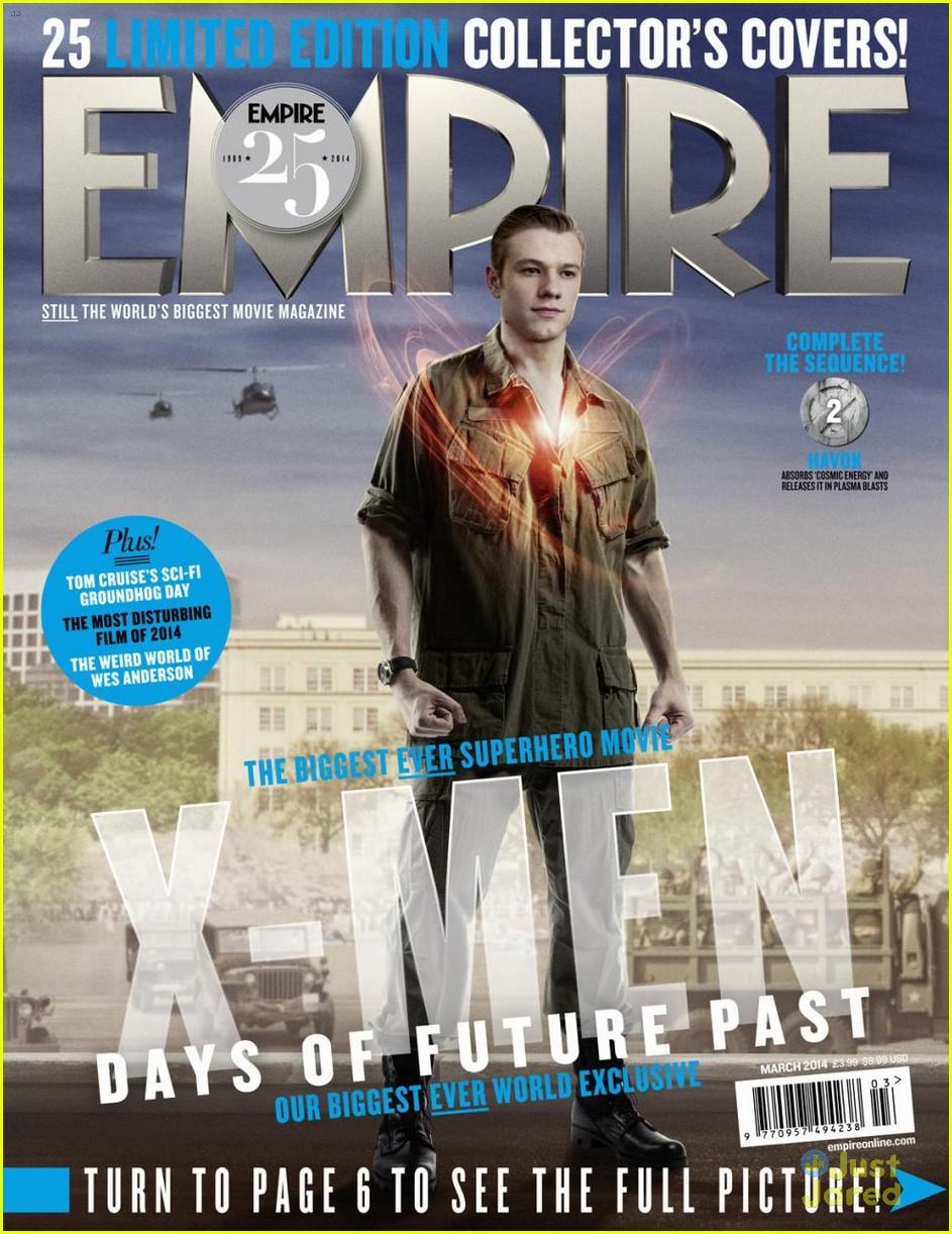 Nicholas Hoult: 'X-Men: Days of Future Past' Empire ... X Men Days Of Future Past Empire Covers