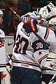 Olympics-hockey team usa prep game olympics announcement 08