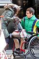 Kevin-chair kevin mchale wheelchair crash glee scenes 01