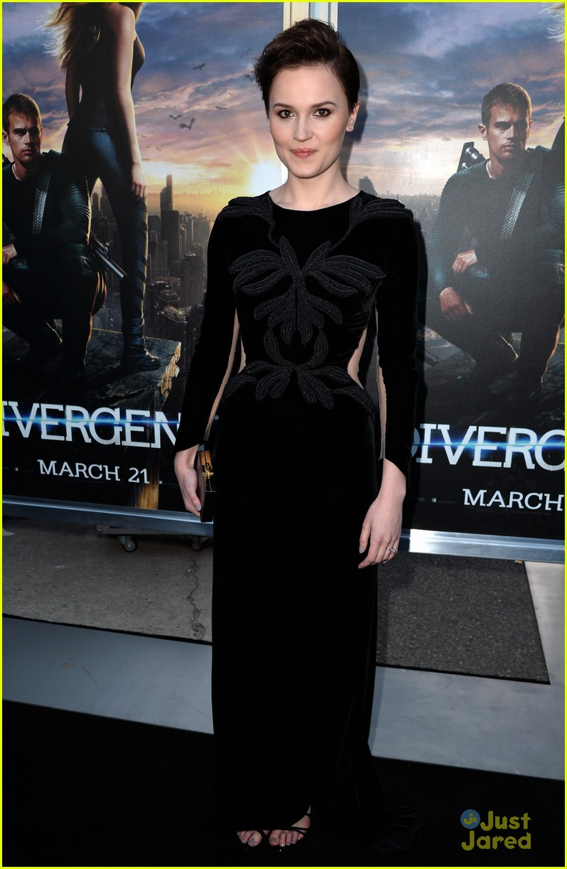 Veronica Roth at the Divergent premiere in Hollywood