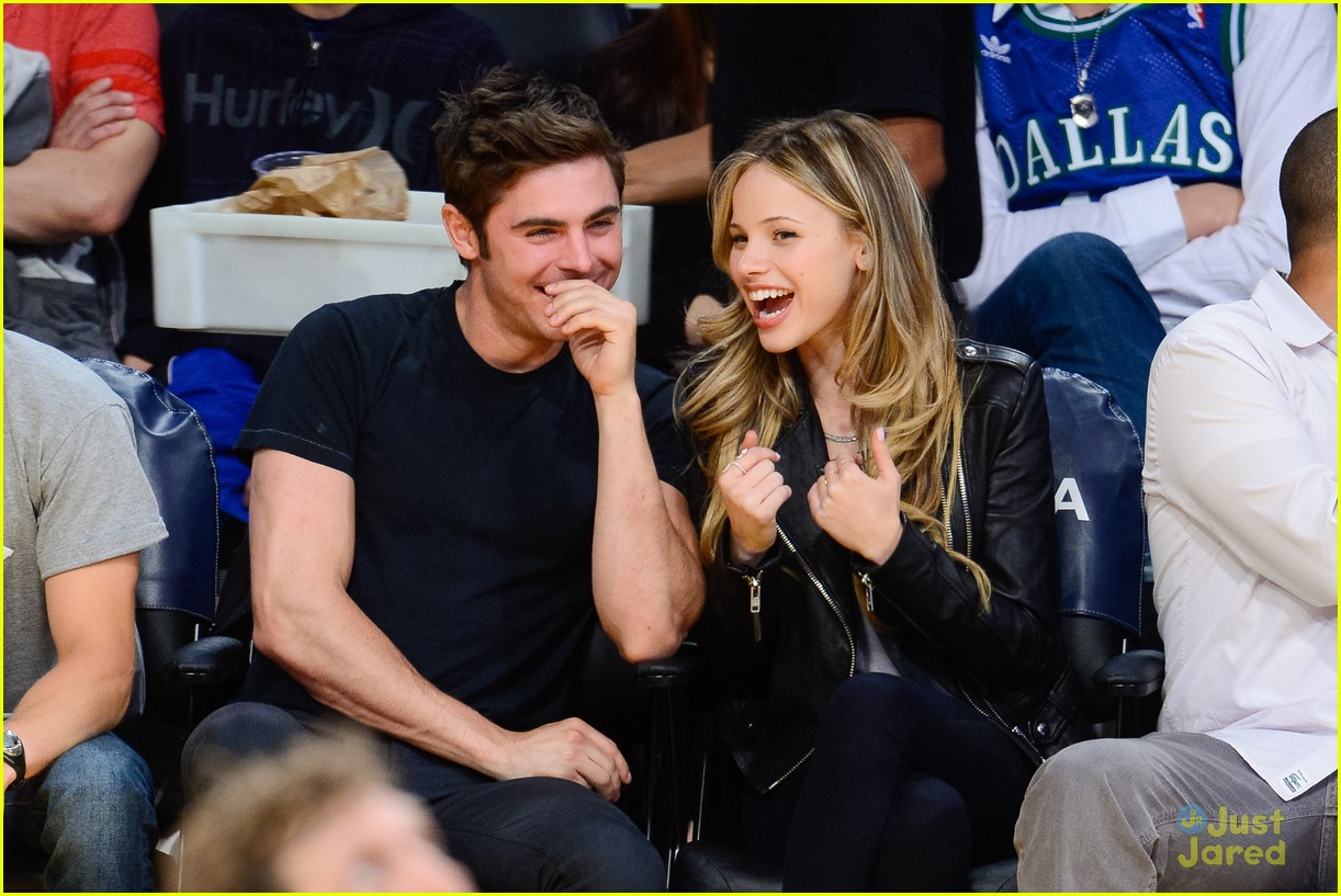 Zac Efron with Girlfriend