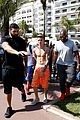 Bieber-more justin bieber continues going shirtless cannes 18