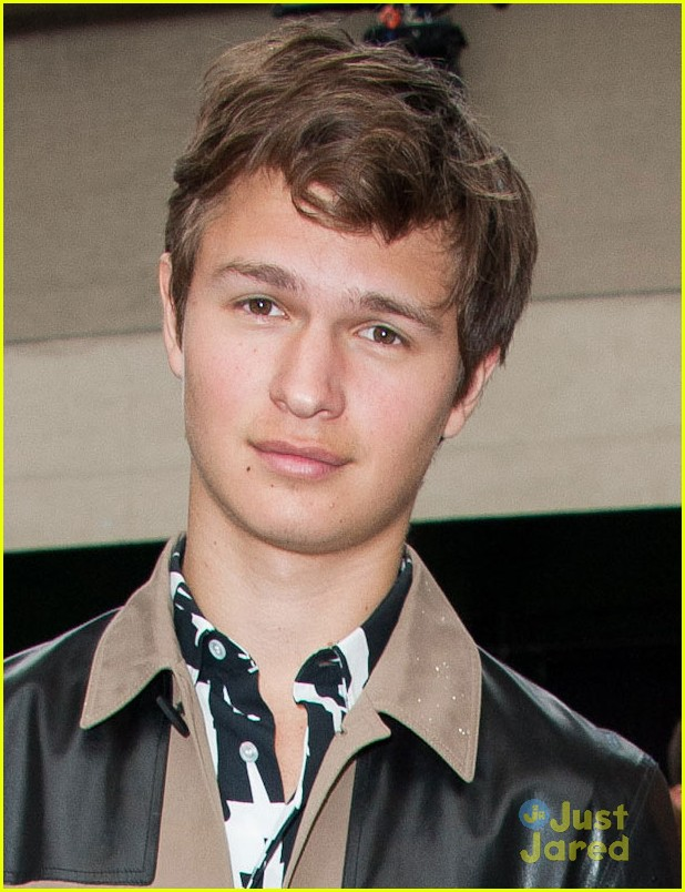 ansel elgort home alone