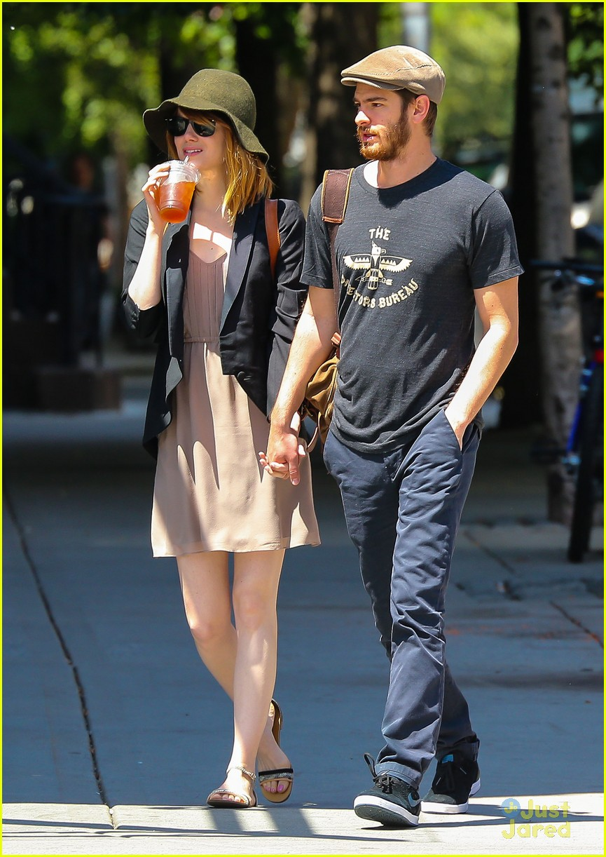 Emma Stone & Andrew Garfield's 'Amazing Spider-Man 2' Set ... Emma Stone Boyfriend