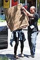 Hudgens-frame vanessa hudgens covers face after yoga 21