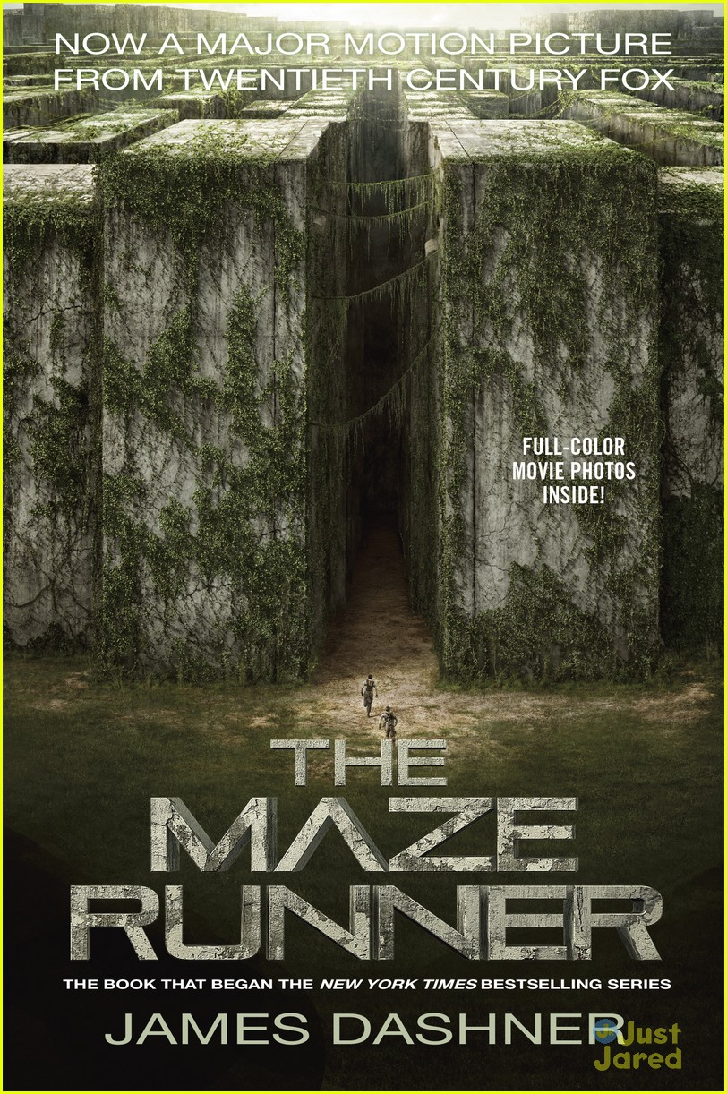 New 'Maze Runner' Movie Book Covers Revealed! | Photo ...