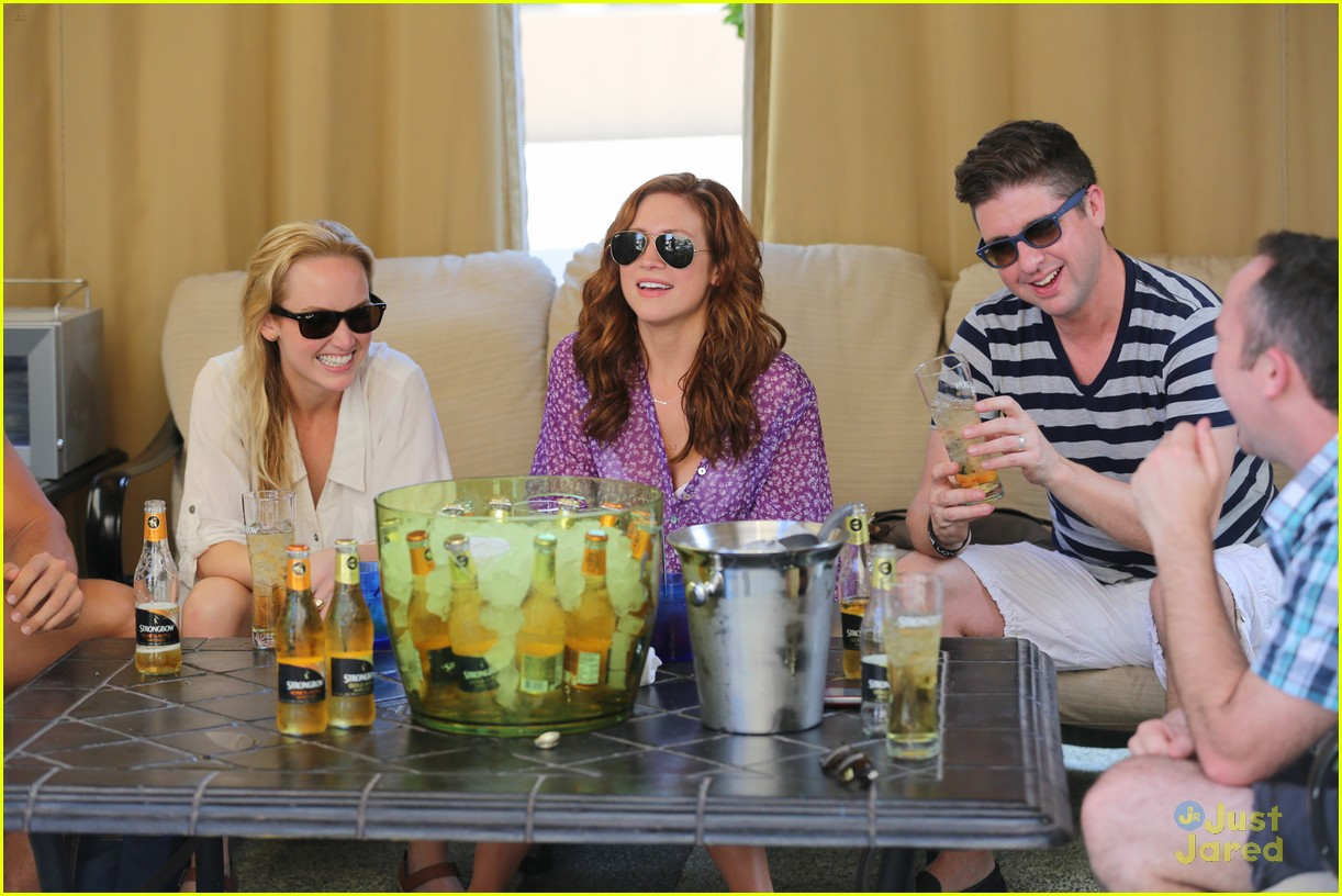 anna camp glamping brittany snow vegas 14