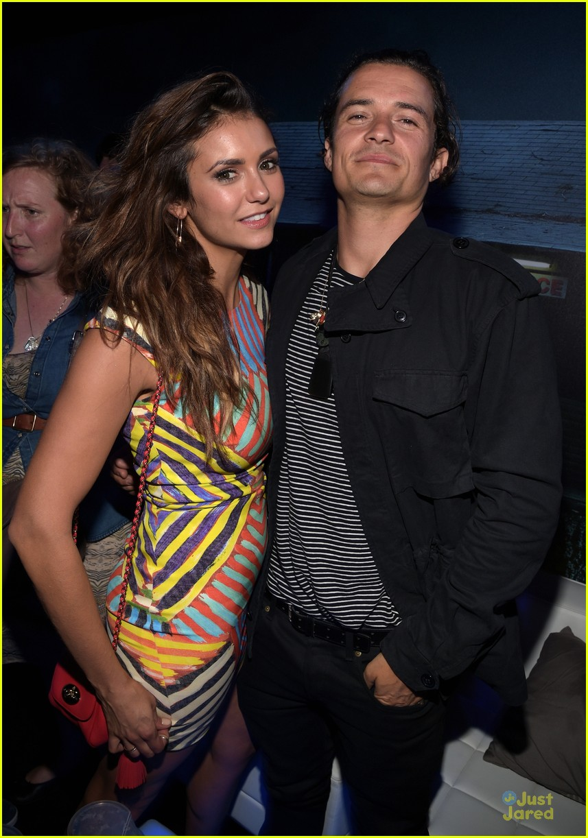 Dobrev & Orlando Bloom Met Up at Playboy Comic-Con Party | orlando