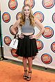 Greer-busters greer grammer shenae grimes more dave busters opening 10