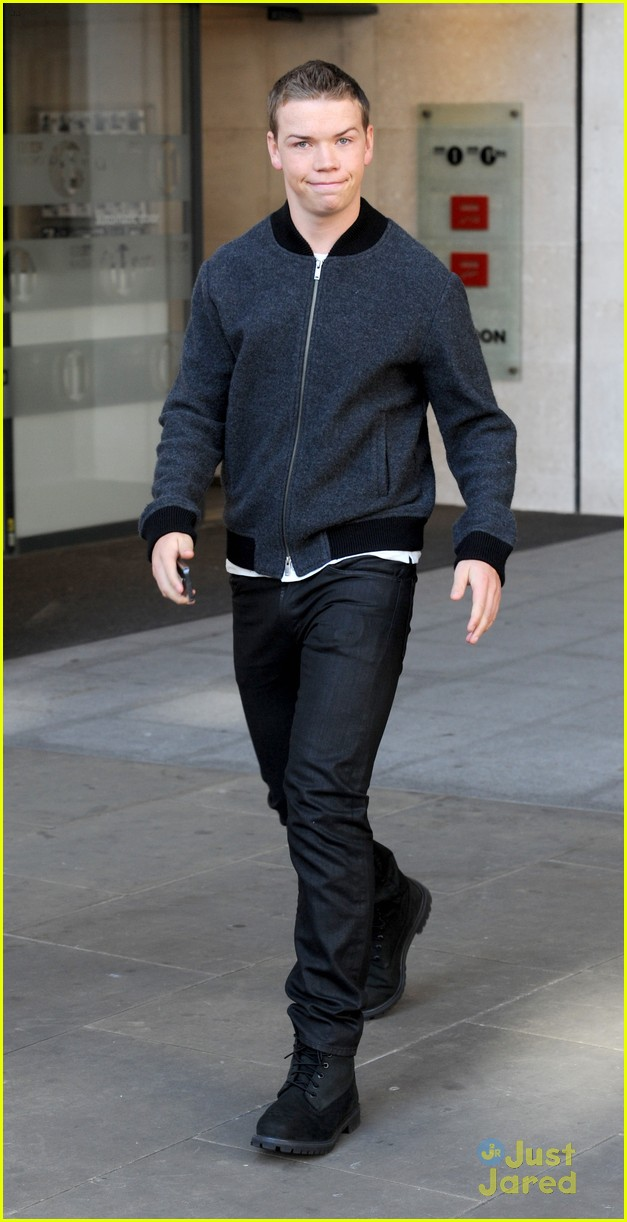 will poulter promote the maze runner london 07