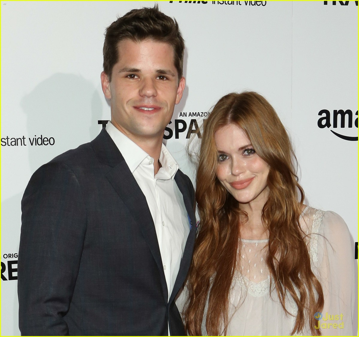 Max Carver with beautiful, Girlfriend Holland Roden
