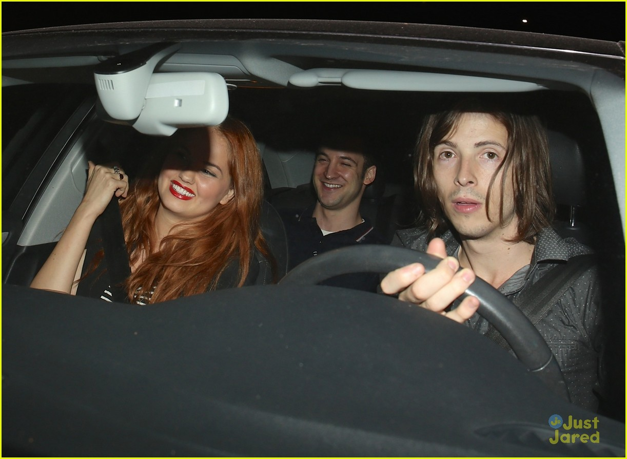 debby ryan ben savage do dinner hollywood 03