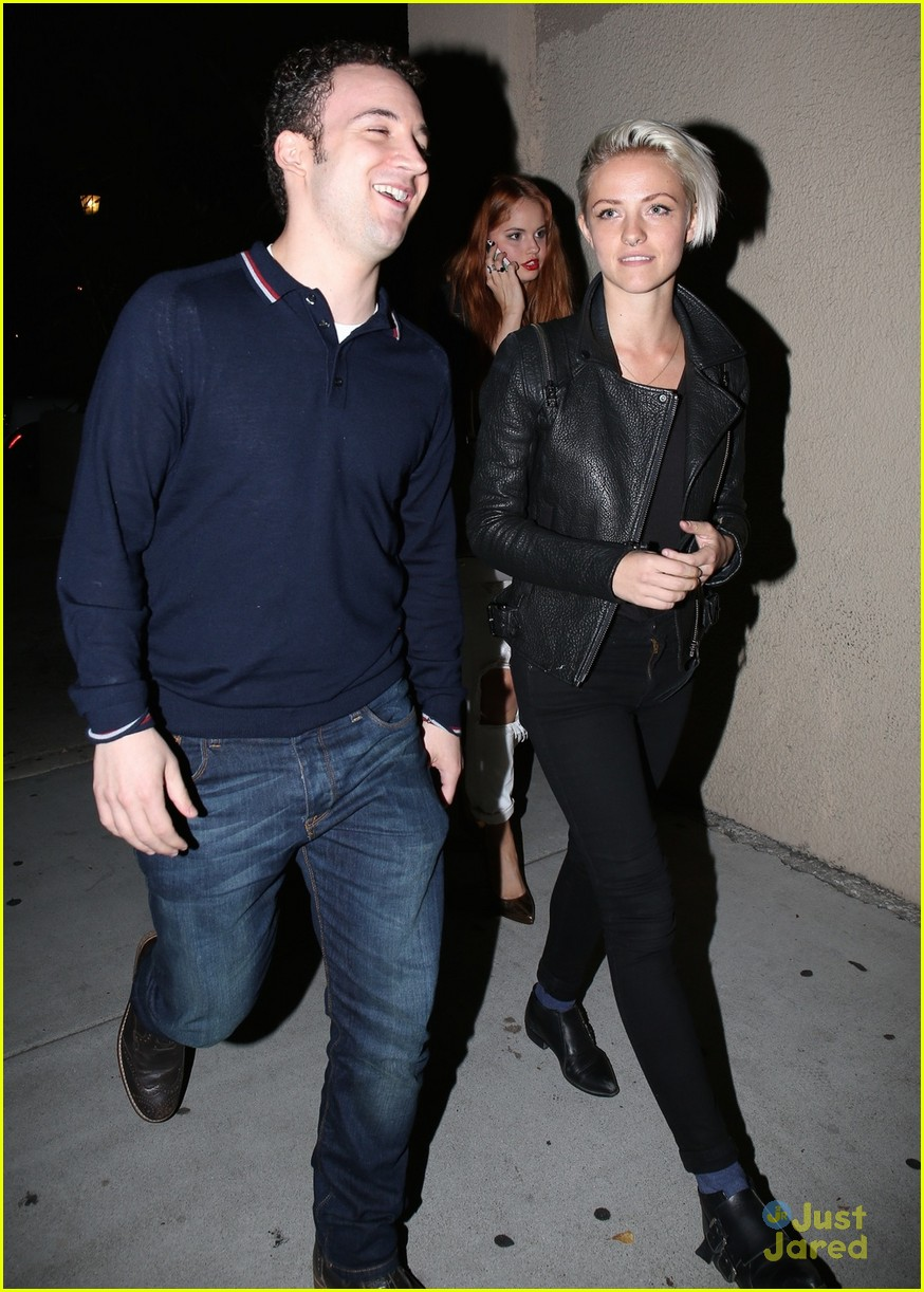 debby ryan ben savage do dinner hollywood 04