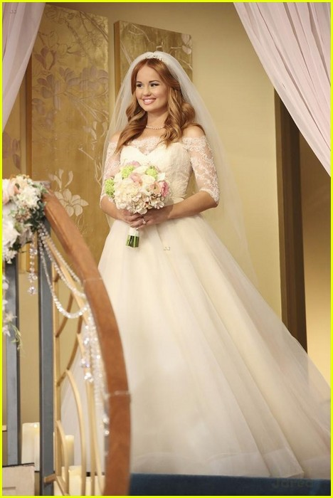 debby ryan kevin chamberlin jessie wedding stills 13