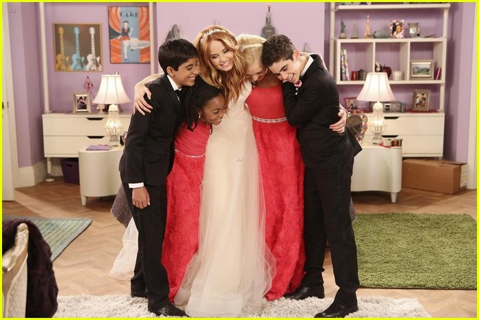debby ryan kevin chamberlin jessie wedding stills 21
