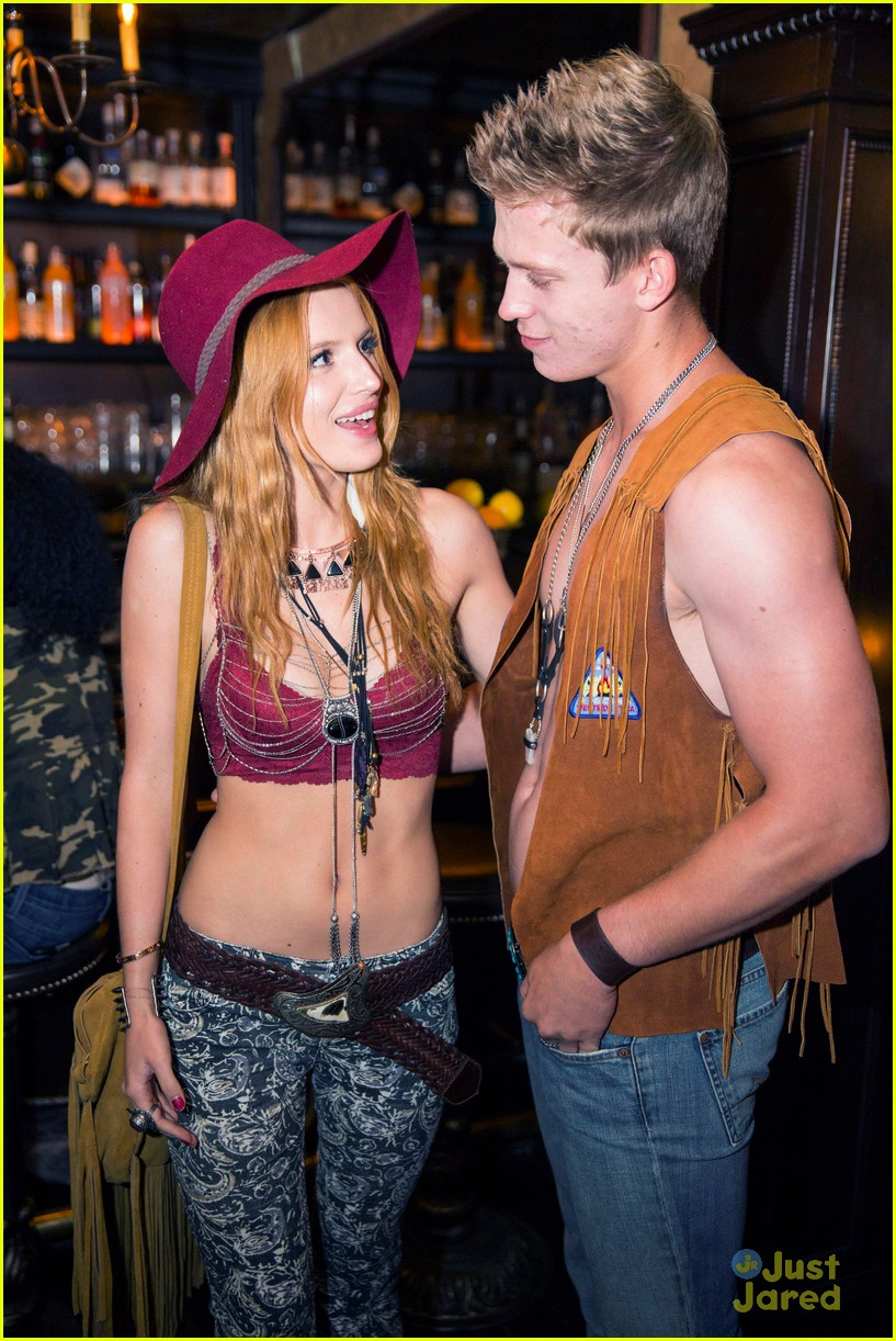 Bella Thorne & Boyfriend Tristan Klier Guess the Brand at Just ...