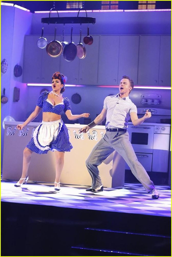 dwts week 8 bethany and derek dating