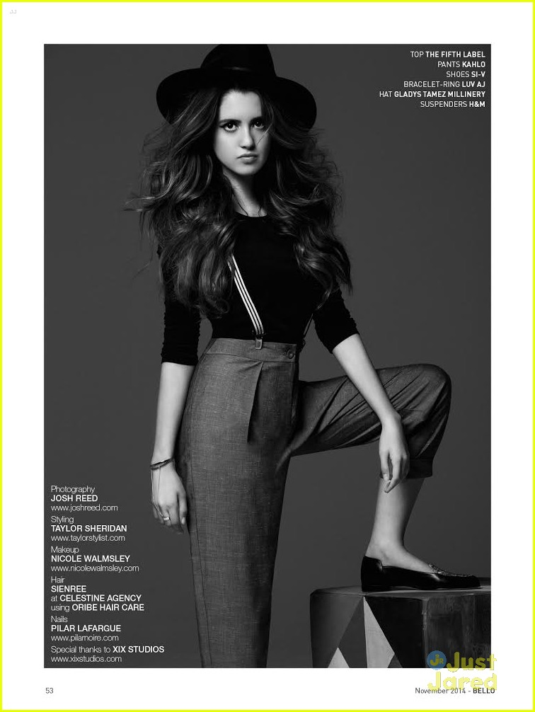 laura marano bello nov 2014 cover 03