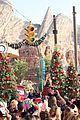 Lucy-parade lucy hale carsland disney parks christmas parade 02