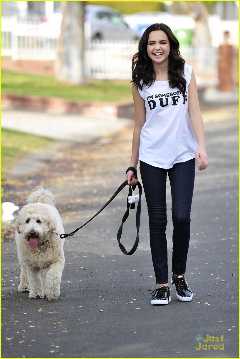 Photo of Bailee Madison & her Dog