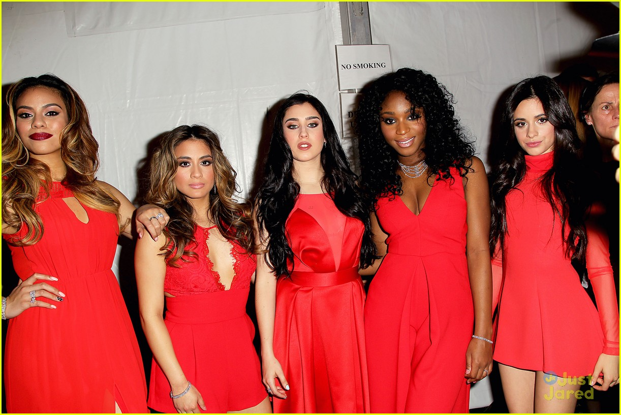 Fifth Harmony Go Red For New York Fashion Week - See Their Runway Pics! | Photo 774838 - Photo ...