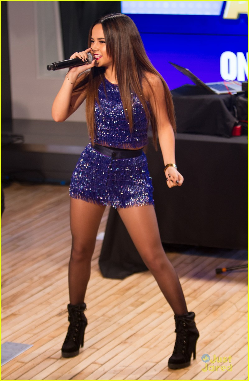 Becky G Kicks Off 'On The Road To RDMAs' Live Tour in New York City! | Photo 786845 - Photo Gallery | Just Jared Jr.