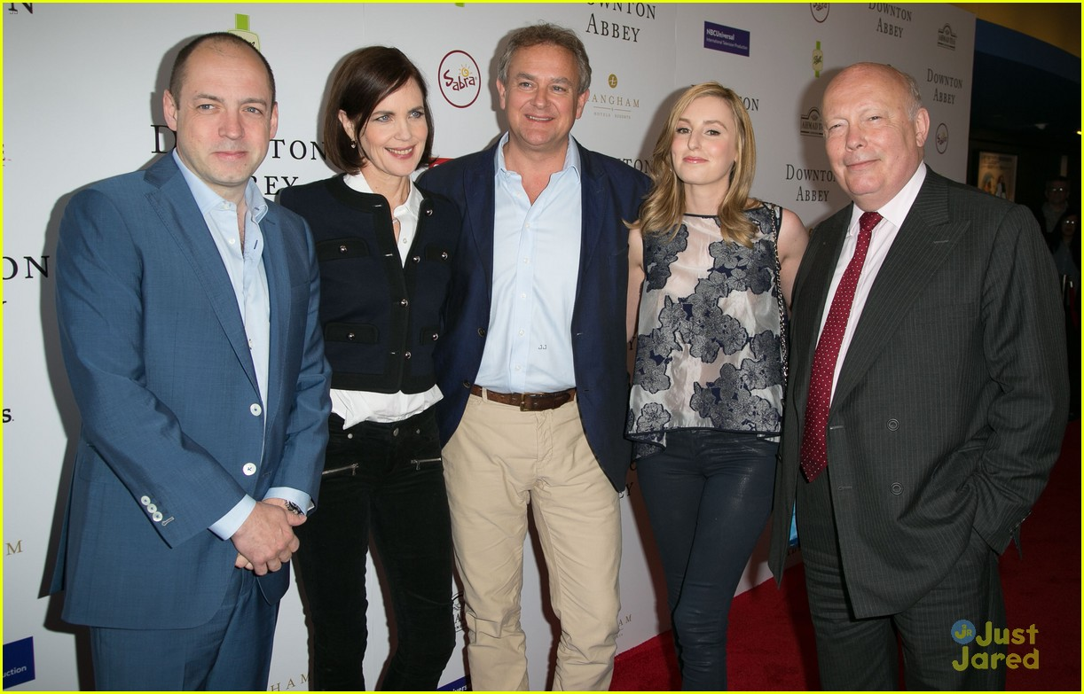 Laura Carmichael Hits Up 'Downton Abbey' Q&A With Co-Stars ...