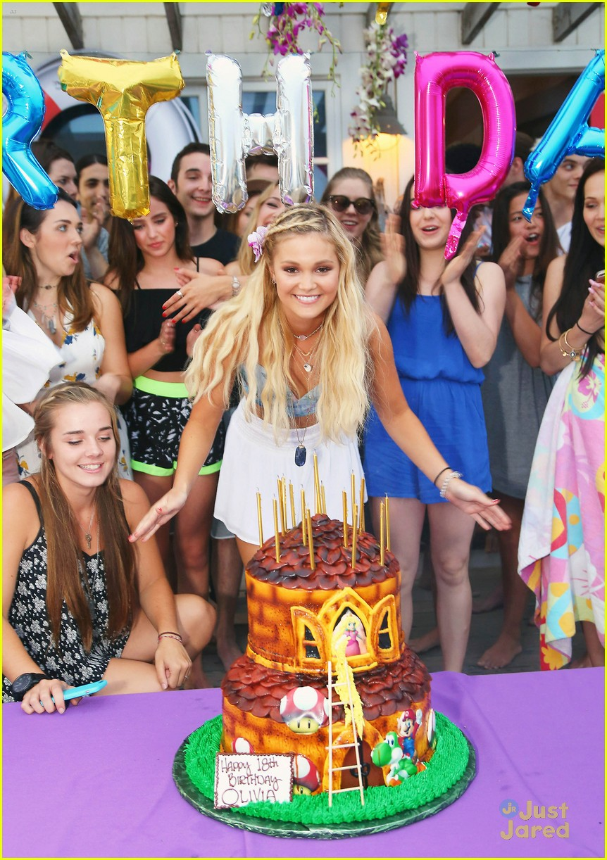 18th Birthday Party At The Beach Image Inspiration of Cake and