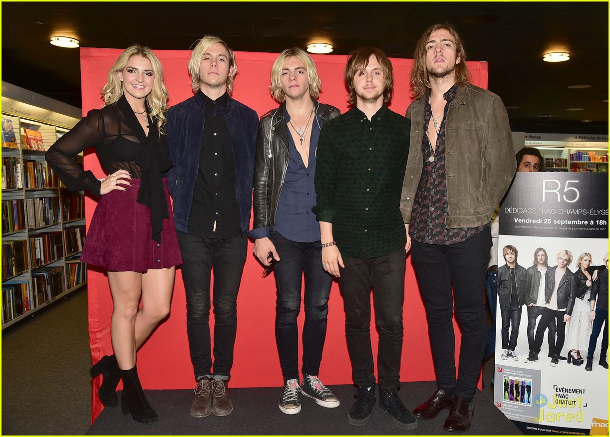 r5 meet greet sometime last night tour paris 07