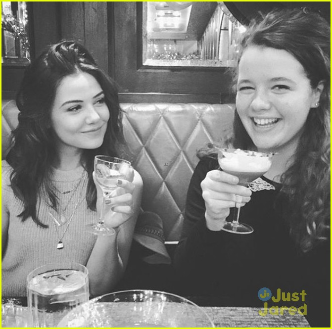 Photo of Danielle Campbell & her friend   -