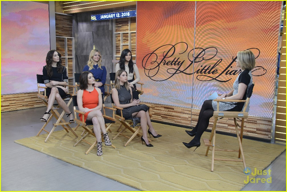pretty little liars cast finish up gma appearance 06