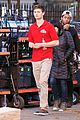 Ansel-pizza ansel elgort pizza delivery guy new movie atl 02